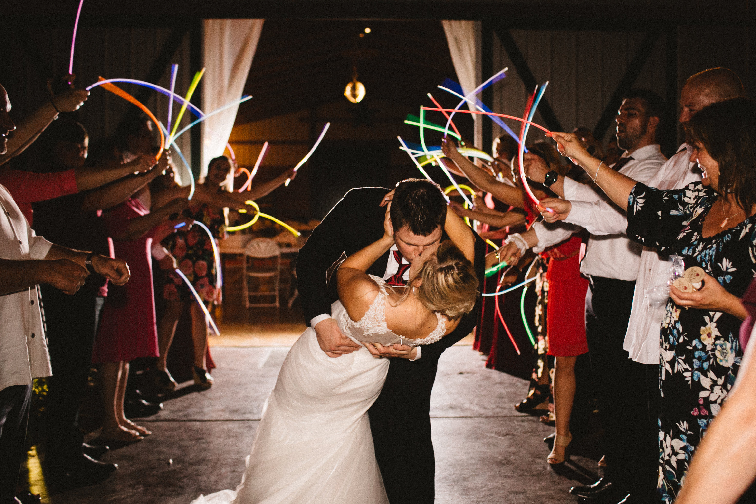 tulsa wedding venues glow sticks