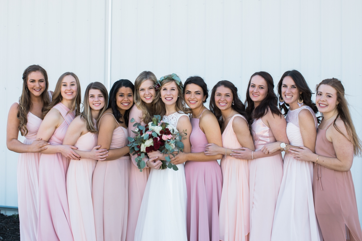 tulsa wedding venues opt bridesmaids