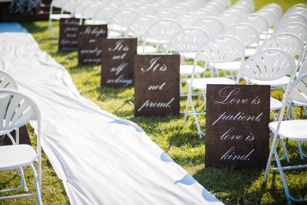 tulsa wedding venues sign